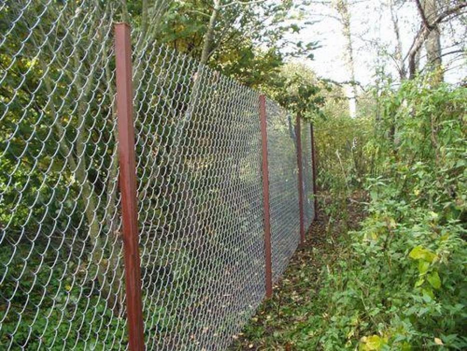 забор из сетки рабица тула алексин заокский ясногорск тульская область цена стоимость купить установить